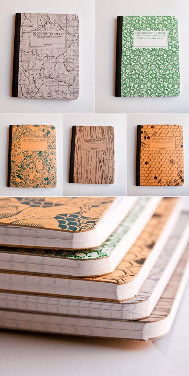 Decomposition books available from Omoi Zakka Shop: https://omoionline.com/