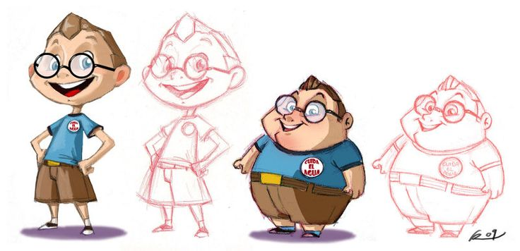 the fat and the nerd by ReevolveR.deviantart.com on @deviantART