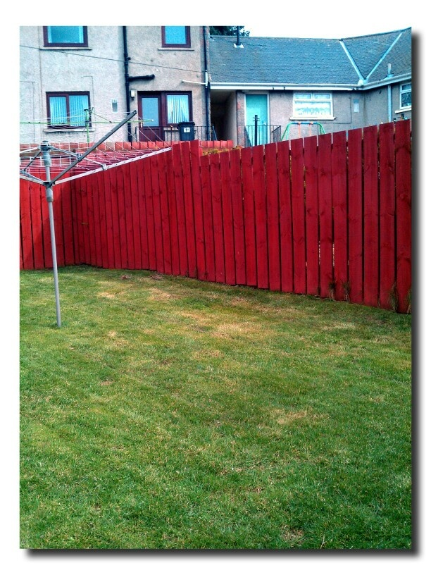 Fence Painted Painted Fences Pinterest Painted