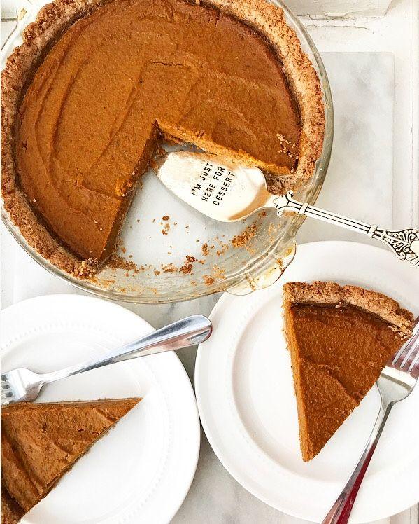 Pumpkin Pie With Toasted Pecan Crust Vegan Gluten Free Pumpkin Pie Just Desserts Vegan Pie