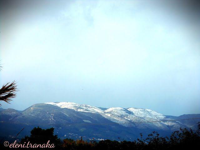 Ελένη Τράνακα: Χιόνια, Ζάκυνθος / Snow, Zakynthos
