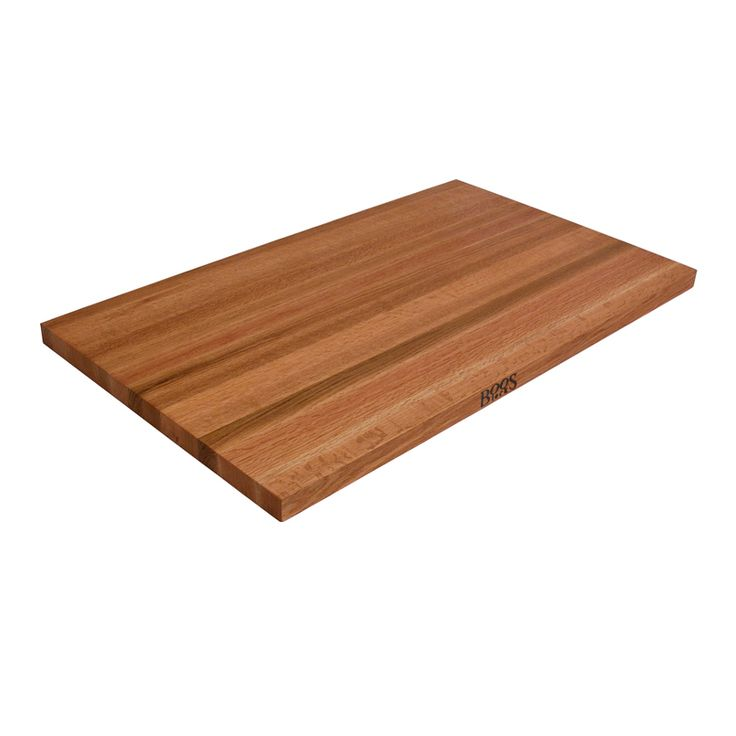 Edge Grain Red Oak Butcher Block Counter Tops - 1.5 inches John Boos via @Butcher Block Co. www.butcherblockco.com