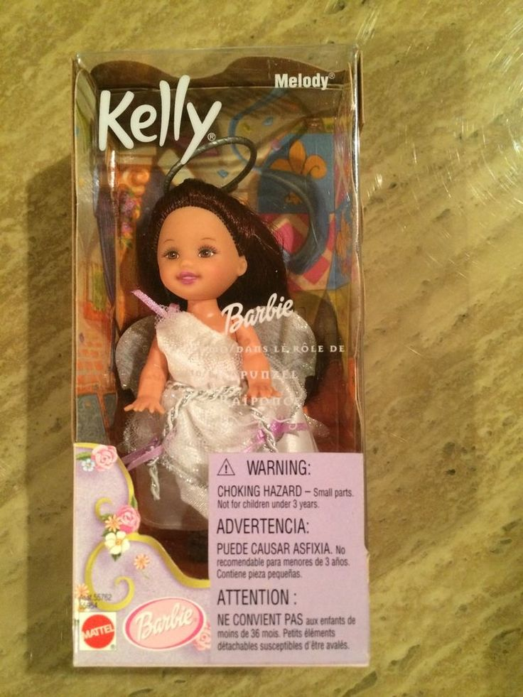 Kelly Barbie Doll as Angel Princess Melody from Rapunzel #Mattel