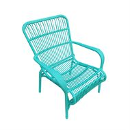 Mimosa Aqua Blue Waiheke Sun Chair | Bunnings Warehouse