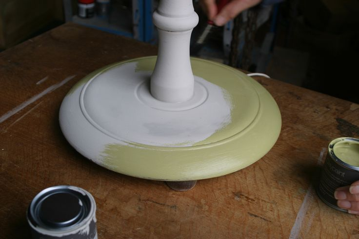 Celtic Sustainables Furniture Painting Classes - using Earthborn Claypaint to transform old furniture. lam-base painted in Fuggles #Earthborn #Claypaint #EcoChic
