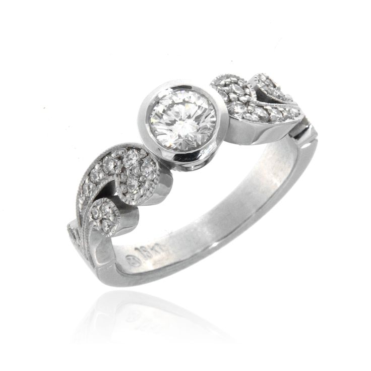 Designer Engagement Ring – 3300237