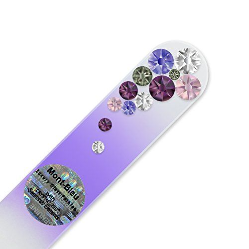 Mont Bleu Glass Nail File hand decorated with crystals fr... https://www.amazon.com/dp/B01N26IU1E/ref=cm_sw_r_pi_dp_x_RgXBzbXPYCQ7E