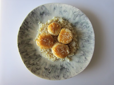 Scallops with Miso Mustard Sauce | Food I've Made | Pinterest