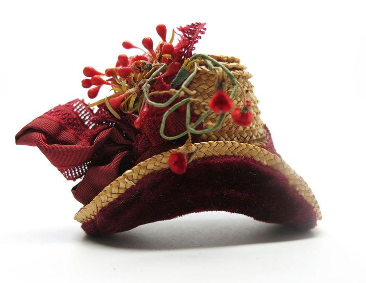 RARE Wonderful Antique Doll's Hat for French Fashion   eBay