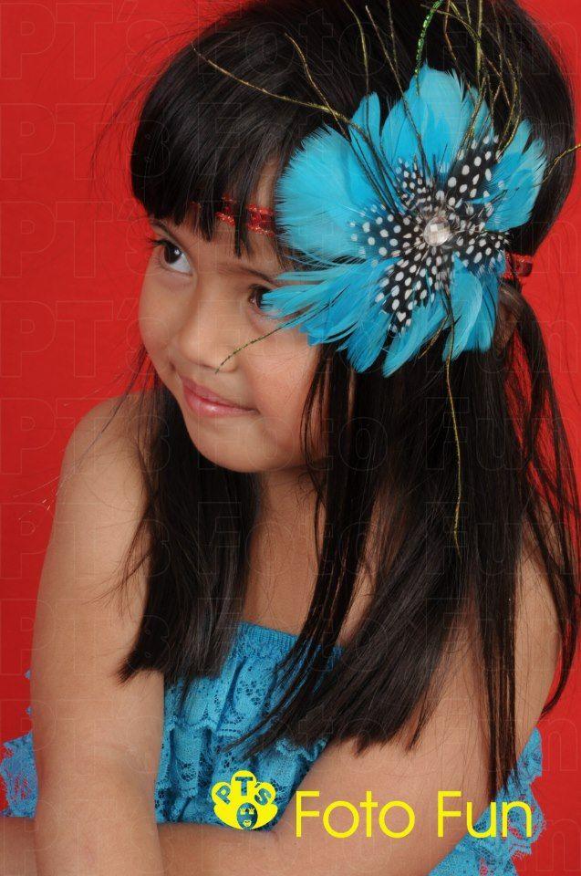 Genie Lee looking like a Van Goh picture, from PT´s Foto Fun