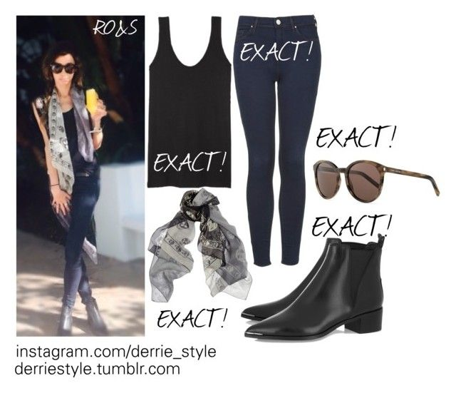 """Eleanor Calder / Instagram Picture 03.10.2015"" by randomoutfitsandstyle ❤ liked on Polyvore featuring Acne Studios, Topshop, Yves Saint Laurent and Alexander McQueen"