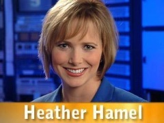 Heather Hamel, news reporter. Click on picture to view bio.