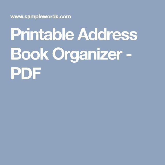 Více než 25 nejlepších nápadů na Pinterestu na téma Address book - phone roster template