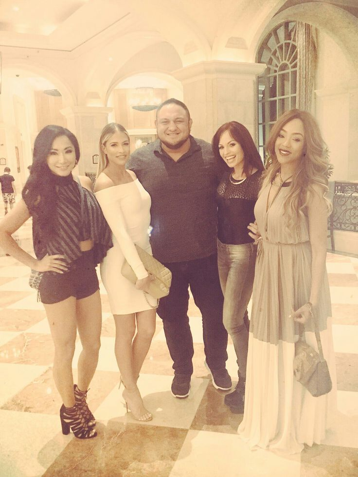 Samoa Joe, Kelly Kelly, Alicia Fox