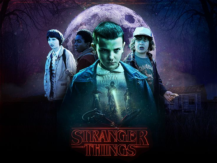 • Stranger Things • by Vincenzo Marco Palmieri