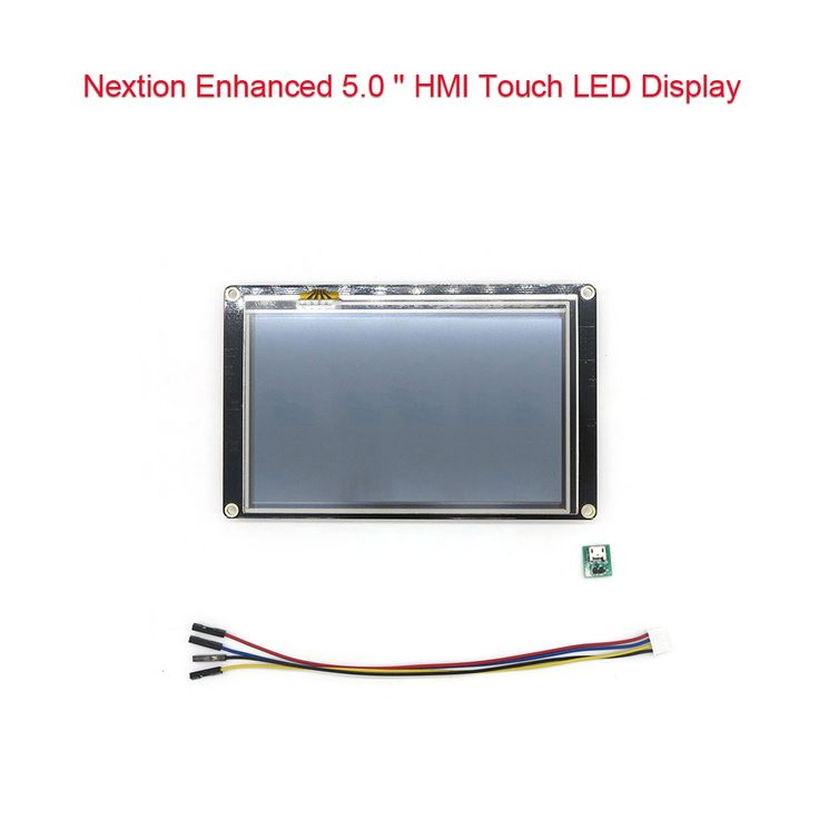 DIYmall Nextion Enhanced 5.0 inch LED LCD Display TFT Module https://www.aliexpress.com/store/product/Nextion-Enhanced-5-0-HMI-Touch-Display-for-Arduino-Raspberry-Pi/406986_32709651674.html