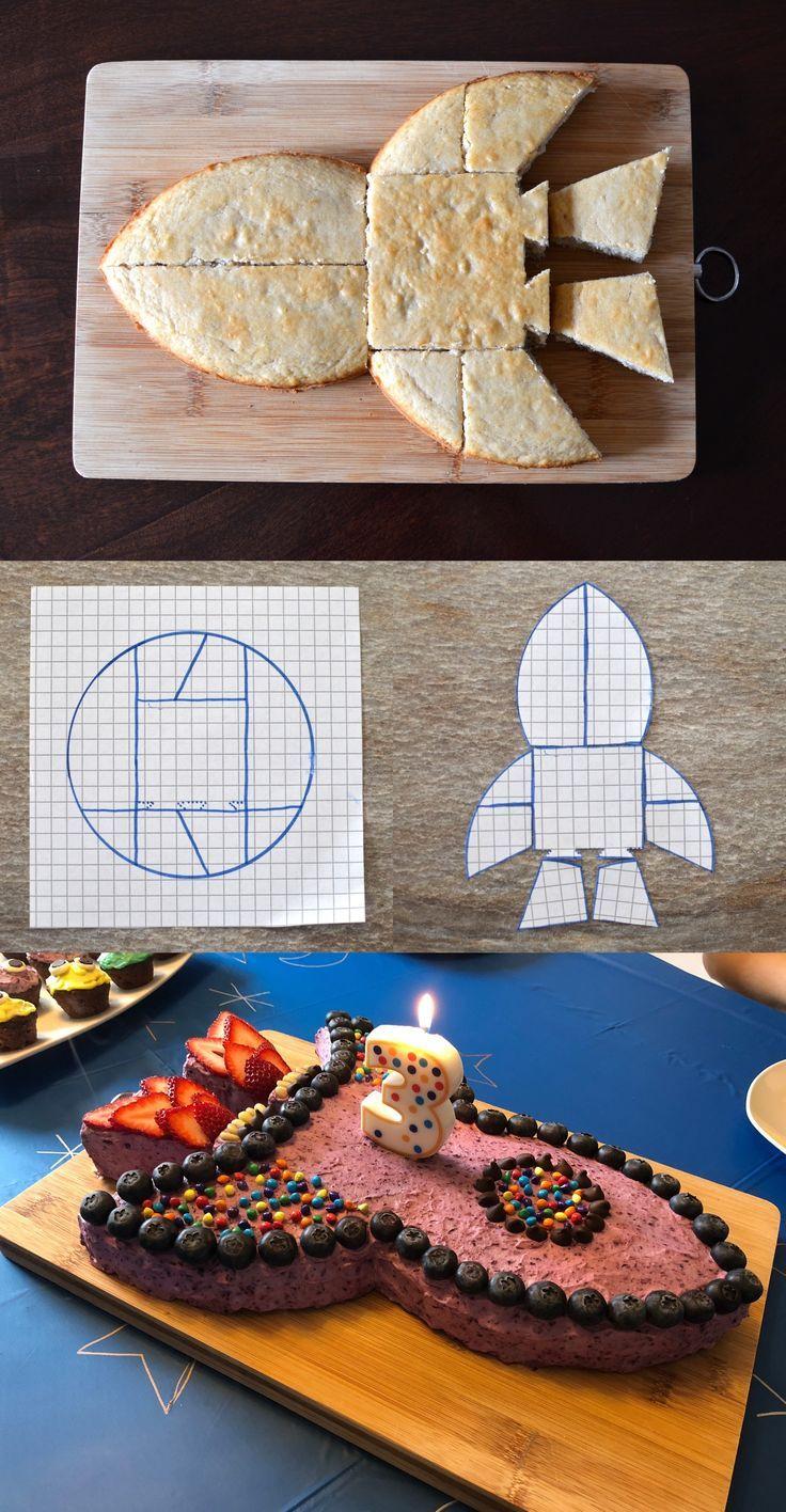 Äpfel & Biber | Machen Sie einen Raketentorte für Ihre Geburtstagsfeier.   – Kochen