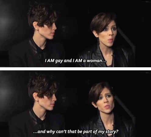 Tegan and sara gay