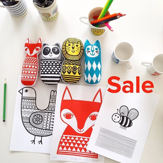 15% off everything in my Etsy shop using the coupon code JUNEJANE via the checkout #janefoster #sale #printsale