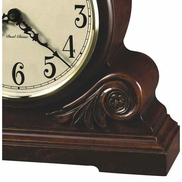 Contemporary Chiming Quartz Mantel Clock Howard Miller