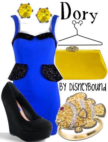 disney boundKeep Swimming, Disney Outfit, Disney Inspiration Outfit, Character Outfit, Disney Bound, Disneybound, The Dresses, Disney Character, Finding Nemo