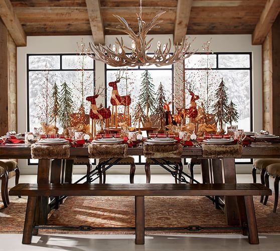 Like The Fixtures In Alpine Mountain Lodges This Chandelier Has A Warm Rustic Charm Antlers Are Carefully Sculpted Then Painted By Hand To Create