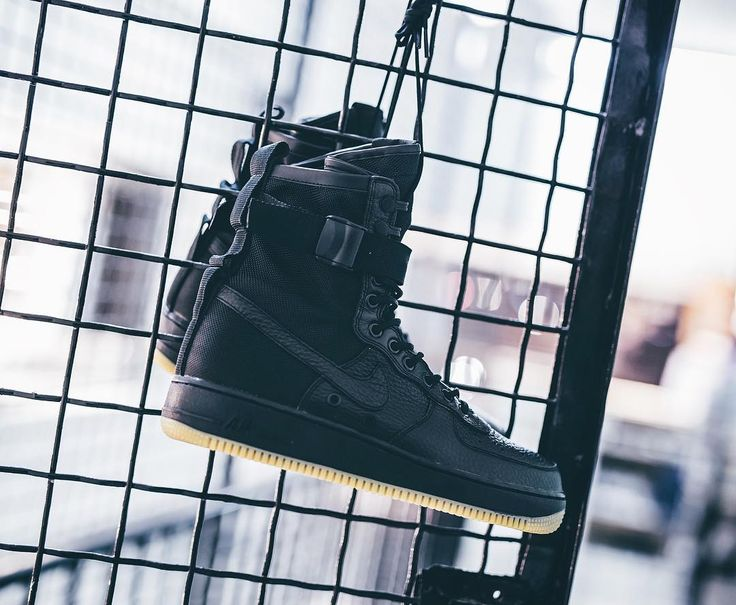 "Nike Special Field AF-1 ""Black/Gum"" available in store and soon at www.streetsupply.pl 15% OFF whole weekend"