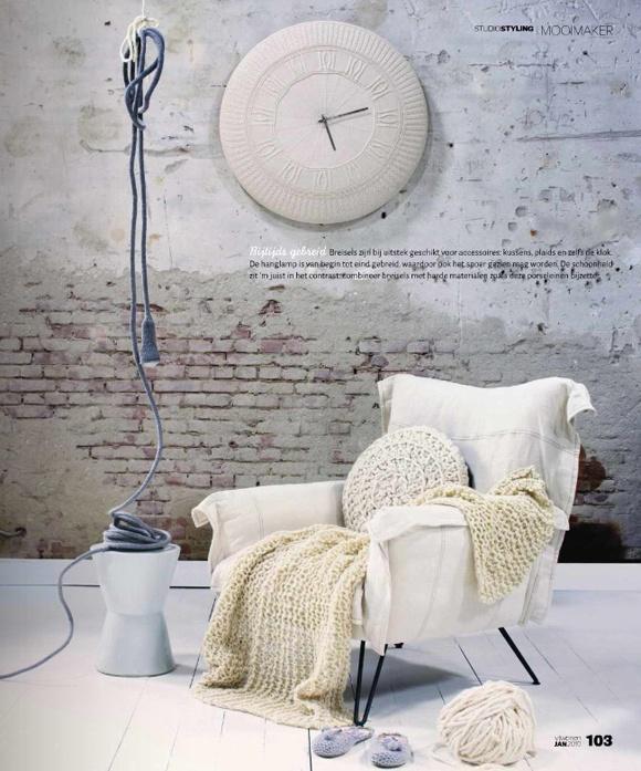 tactile, tonal, textured: VT Wonen magazine