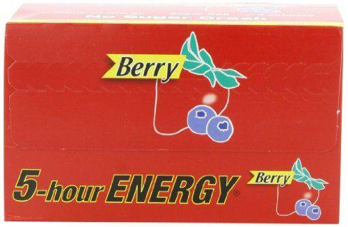 5-Hour Energy - Berry 1.93-Ounce Packages (Pack of 12) | Multicityhealth.com  List Price: $24.70 Discount: $5.70 Sale Price: $19.00