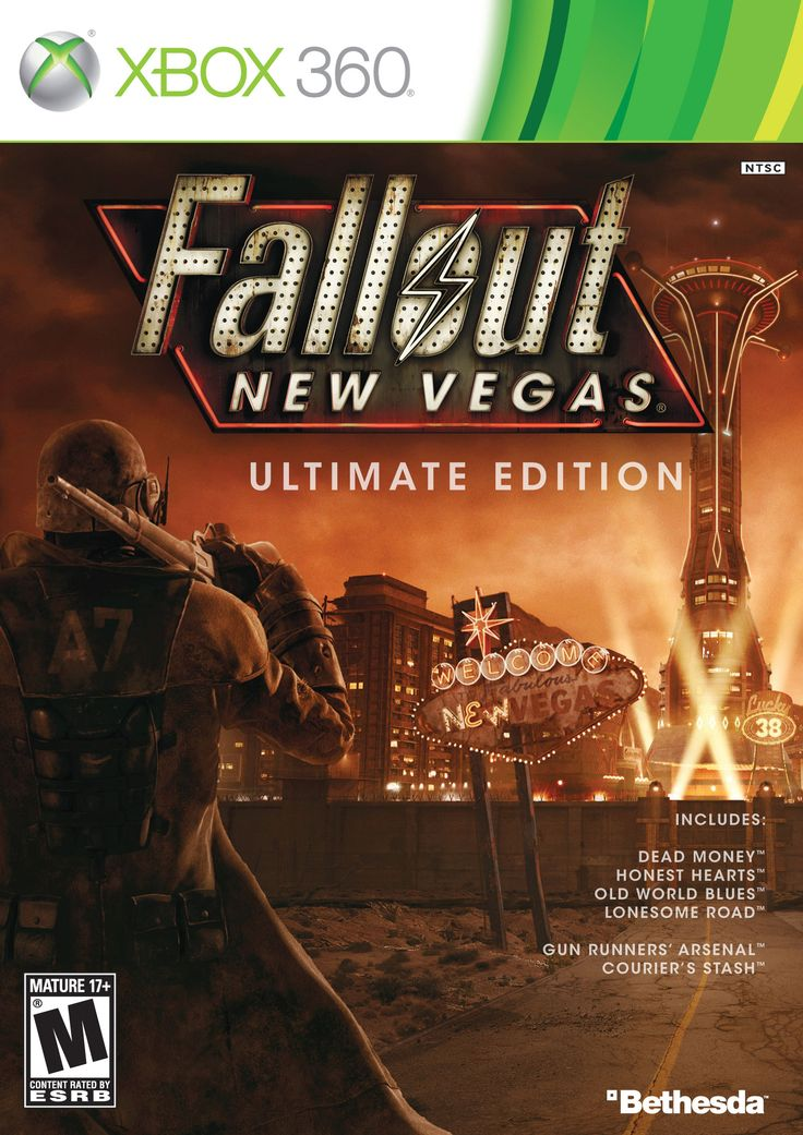 X360 Fallout: New Vegas Ultimate Edition Xbox 360 Game