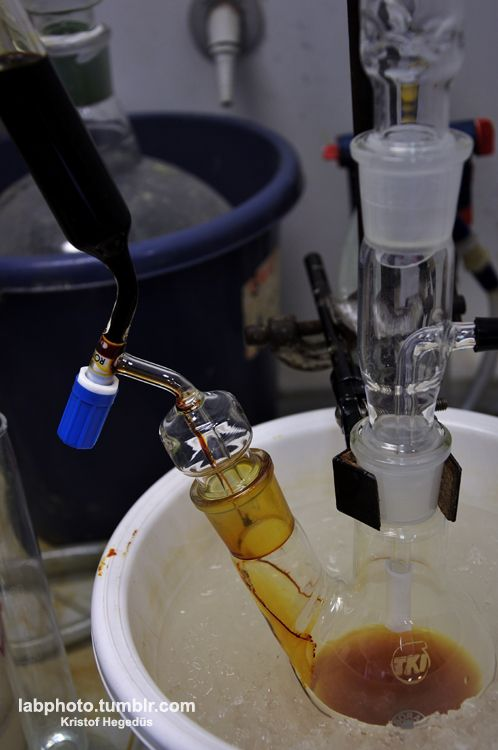 Generating borane from the reaction of iodine + sodium borohydride in THF. When the color of the iodine fades it is ready. The reaction goes as seen here: So what happens here?First, iodine is reacting with one sodium borohydride, so you get borane, sodium iodide, and hydrogen iodide. Then hydrogen iodide is reacting with another sodium borohydride, so you get another borane and another sodium iodide, plus some hydrogen.