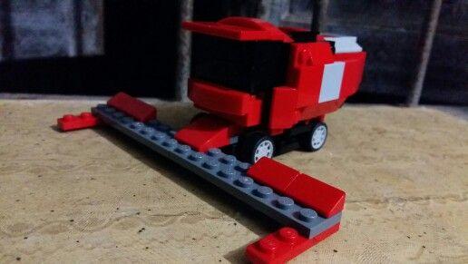 Combine harvester lego