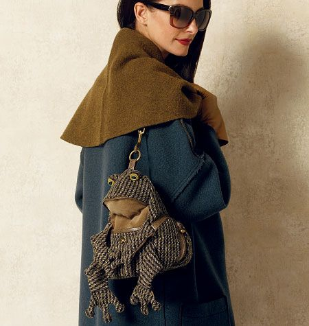 Froggie Bag from Vogue Patterns!