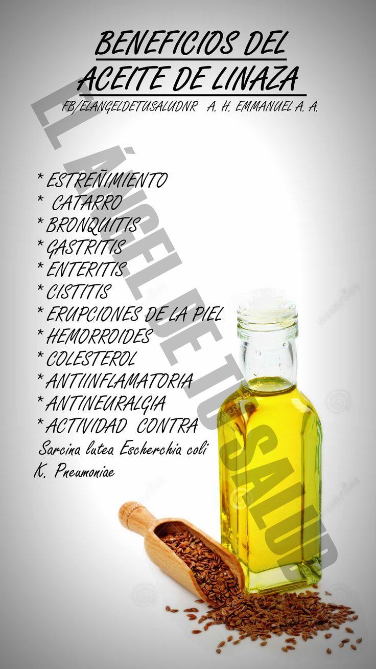 El aceite de linaza posee una excelente concentración de ácidos grasos omega. Los ácidos grasos omega 3 son indispensables para una buena salud del corazón, mantener una presión arterial estable y saludables niveles de colesterol en la sangre. Además, los ácidos grasos omega 3 también ayudan a mantener una buena salud del cerebro para que desarrollen sus funciones correctamente y proporciona un buen estado de ánimo.El ácido alfa-linolénico, perteneciente a los ácidos grasos omega 3,