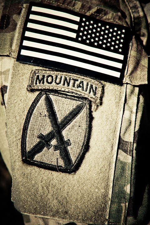 10th Mountain Division Deployment Patch