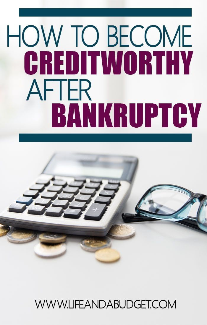 You Can Become Creditworthy After Bankruptcy Today I M Sharing My Personal Story Of How I Became Creditworthy Again In U Bankruptcy Payday Loans Credit Repair