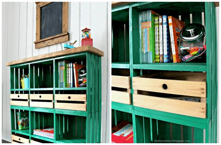 16 Brilliant Ideas That Will Make You Want All The Wooden Crates · One Good Thi… – Dining Room
