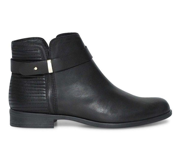 """Boots noirs femme """"Leona"""" (Éram) 89€ - Octobre 2015"""