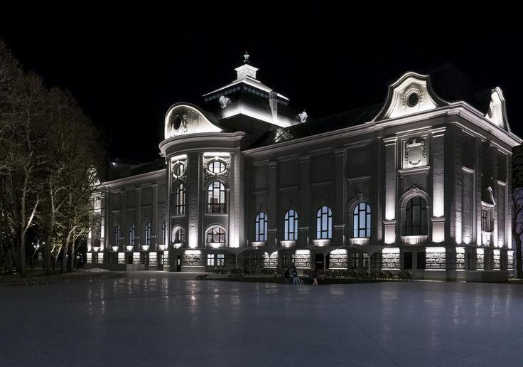 LNMM - Latvian National Museum of Art #facade #project #museum