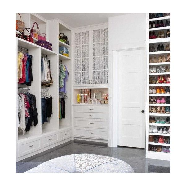 Home Inspiration 32 Beautiful And Luxurious Walk In Closet Designs ❤ Liked  On Polyvore