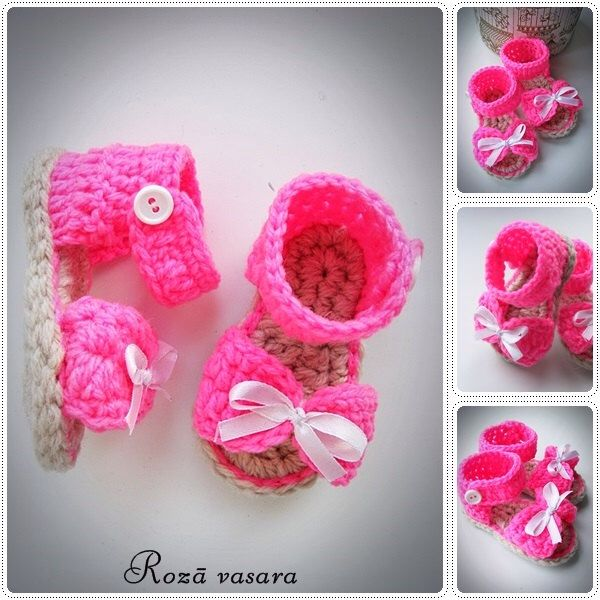 Crochet Baby Sandals, Crochet Baby Shoes, Crochet Baby Boties, Baby Sandals, Baby Shoes, Crochet Baby Girl Shoes by divaspekas on Etsy https://www.etsy.com/listing/514851791/crochet-baby-sandals-crochet-baby-shoes