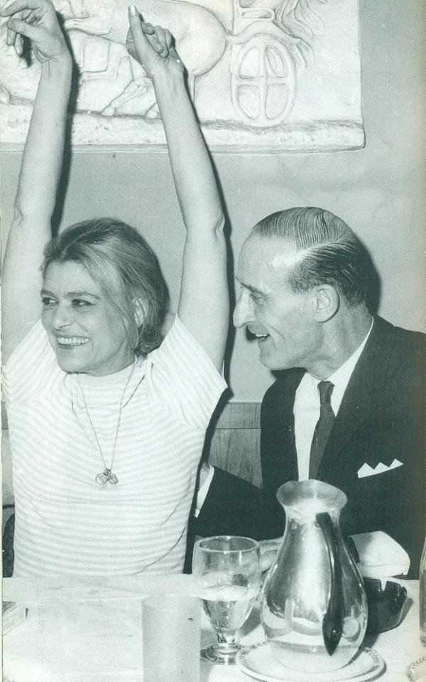 Melina Merkouri & Nikos Stavridis