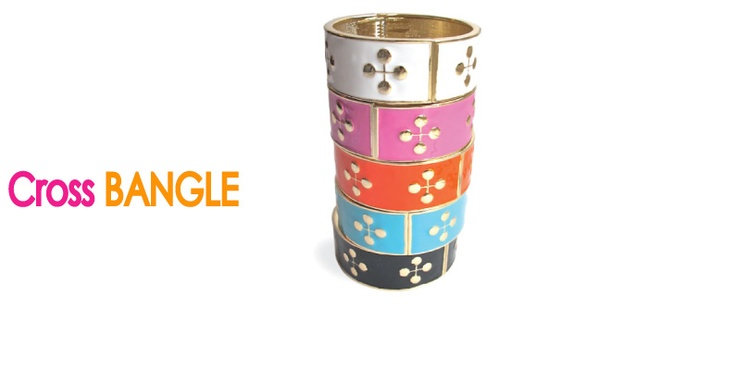 the cross bangle