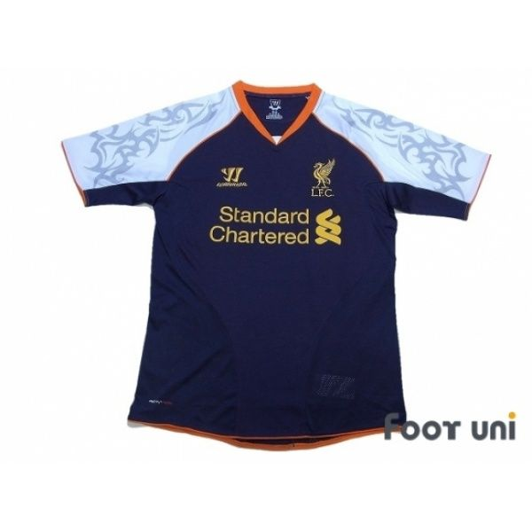 Photo1: Liverpool 2012-2013 3RD Shirt WARRIOR - Football Shirts,Soccer Jerseys,Vintage Classic Retro - Online Store From Footuni Japan