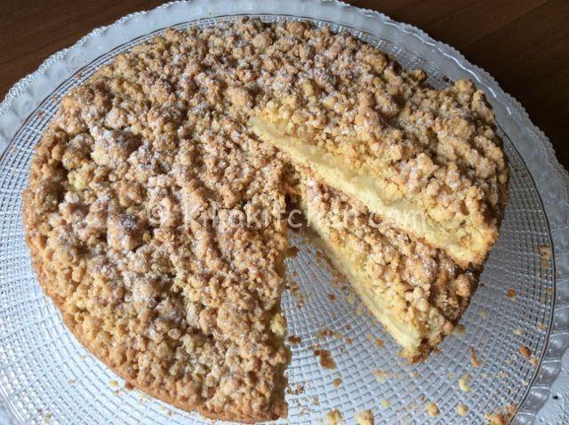 torta sbriciolata mele