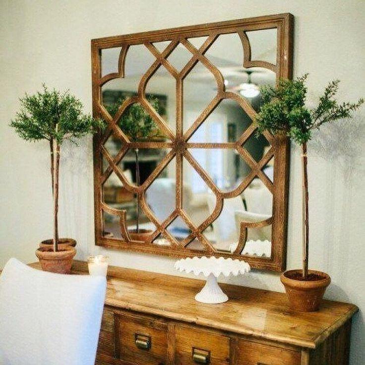 Купить Зеркальное фальшокно в деревянной раме в интернет магазине на Ярмарке Мастеров