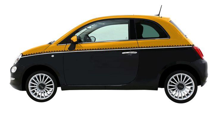 Fiat propose de multiples teintes de carrosserie pour cette voiture élégante et chic.