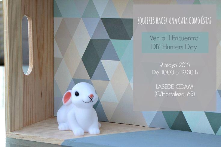 Cómo decorar cajas de madera en el DIY Hunters Day (y sorteo express) | el taller de las cosas bonitas