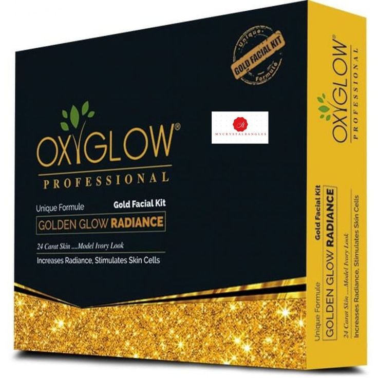 OXYGLOW GOLD FACIAL KIT, 165 G #OXYGLOW