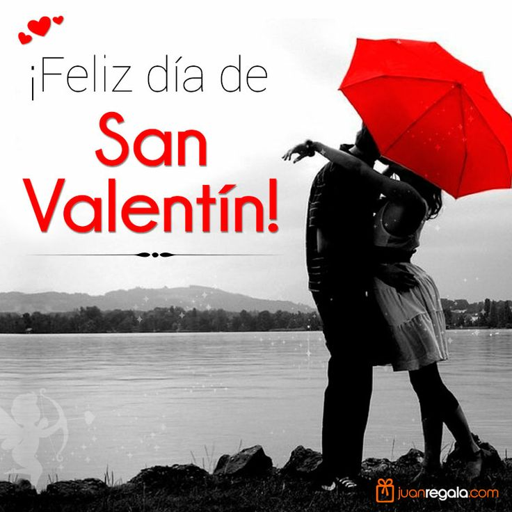 Feliz San Valentín 14 de Febrero, happy valentines day February 14th.